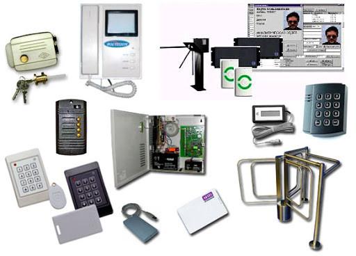 Монтаж систем контроля и управления доступом