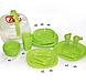 Столовый набор для пикника 48 предмета Picnic Package 48-ОМ зеленый, фото 2