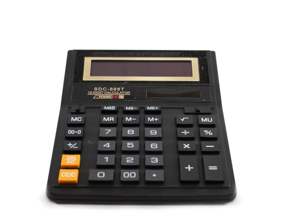 Калькулятор, SDC-888T, калькулятор 888, це, калькулятор для школи