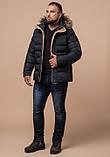 Зимняя куртка с опушкой графит, фото 2