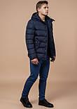 Куртка зимняя мужская темно-синяя, фото 2