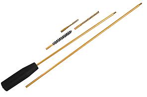 Набір для чищення зброї 4,5 мм ПВХ упаковка (три насадки: латунь, синтетика, вішер)