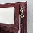Небольшой кошелек с клапаном / натуральная кожа (10248) Розовый, фото 7