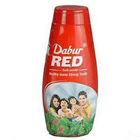 Зубной порошок Ред, 60 г, Дабур; Dabur Red Tooth Powder, 60 г