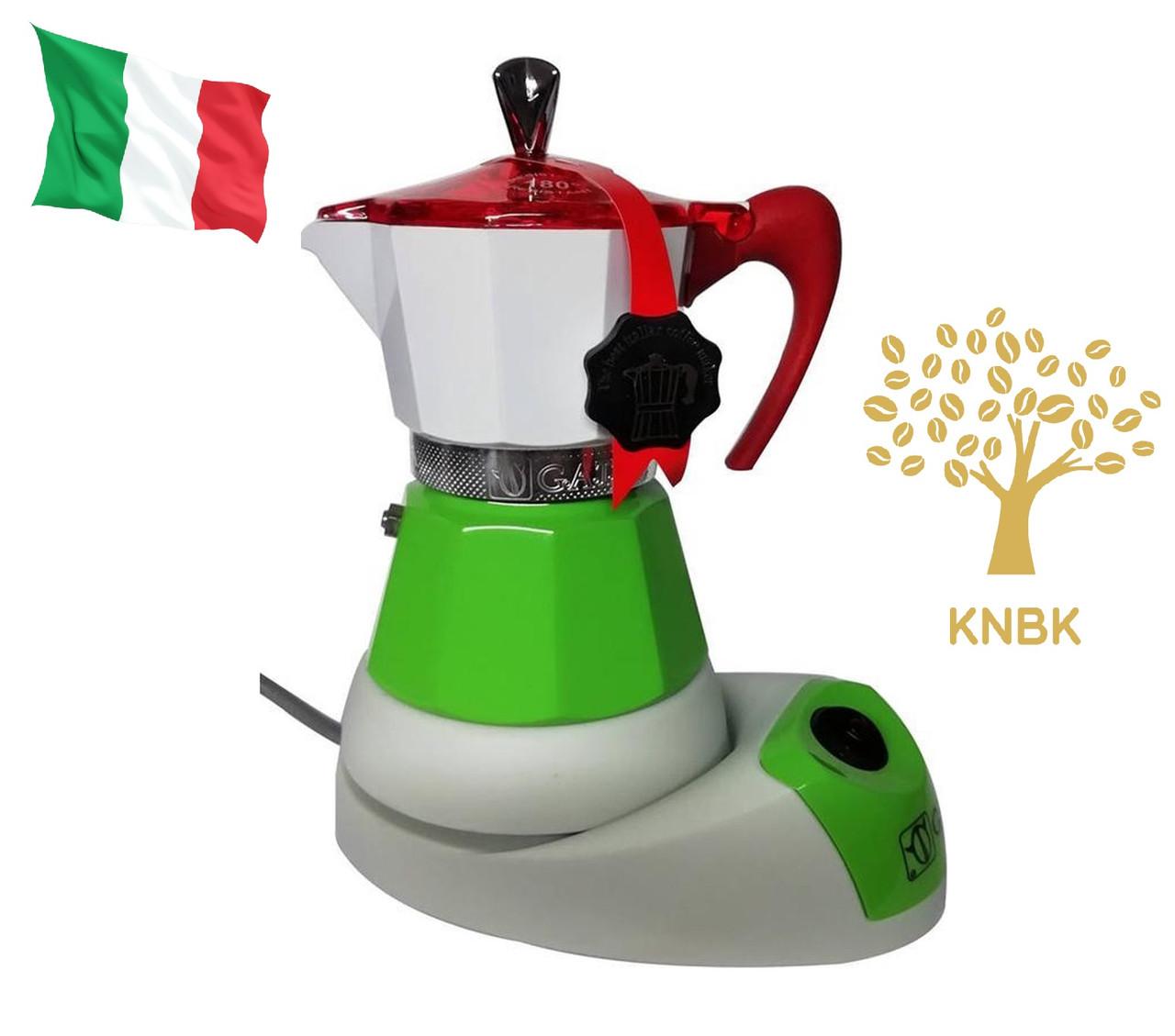 Гейзерная кофеварка G.A.T. Fanta Italy 200 мл. (на 4 чашки) Италия