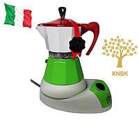 Гейзерная кофеварка G.A.T. Fanta Italy 200 мл. (на 4 чашки) Италия, фото 1