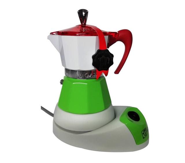 Гейзерная кофеварка G.A.T. Fanta Italy 220 мл. (на 4 чашки) Италия