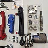 Комплект переобладнання МТЗ-82 (установка на ГУР) | переробка рульового на насос дозатор, фото 2