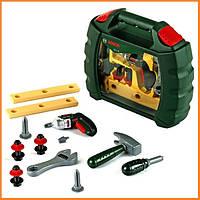 Детский набор инструментов Klein в кейсе BOSCH с шуруповертом 8384
