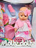 Пупс Baby Born BL020 J Кукла Беби Борн, фото 3