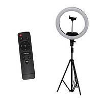 Светодиодная лампа на штативе для блогера + пульт дистанционного управления AL-33