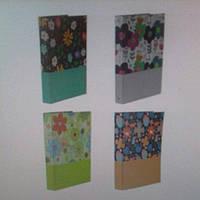 Папка А4 на 4 кольца картон ламинированный Цветы № 9-504