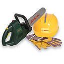 Набор инструментов с бензопилой и каской BOSCH Klein 8435, фото 2