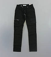 Модные котоновые брюки для мальчика, фото 1