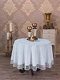 Скатерть кругла 160 -160, фото 2