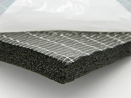 Спінений синтетичний каучук з липким шаром, товщ.25мм, шир.1000мм
