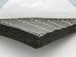 Вспененный синтетический каучук с липким слоем, толщ.19мм, шир.1000мм