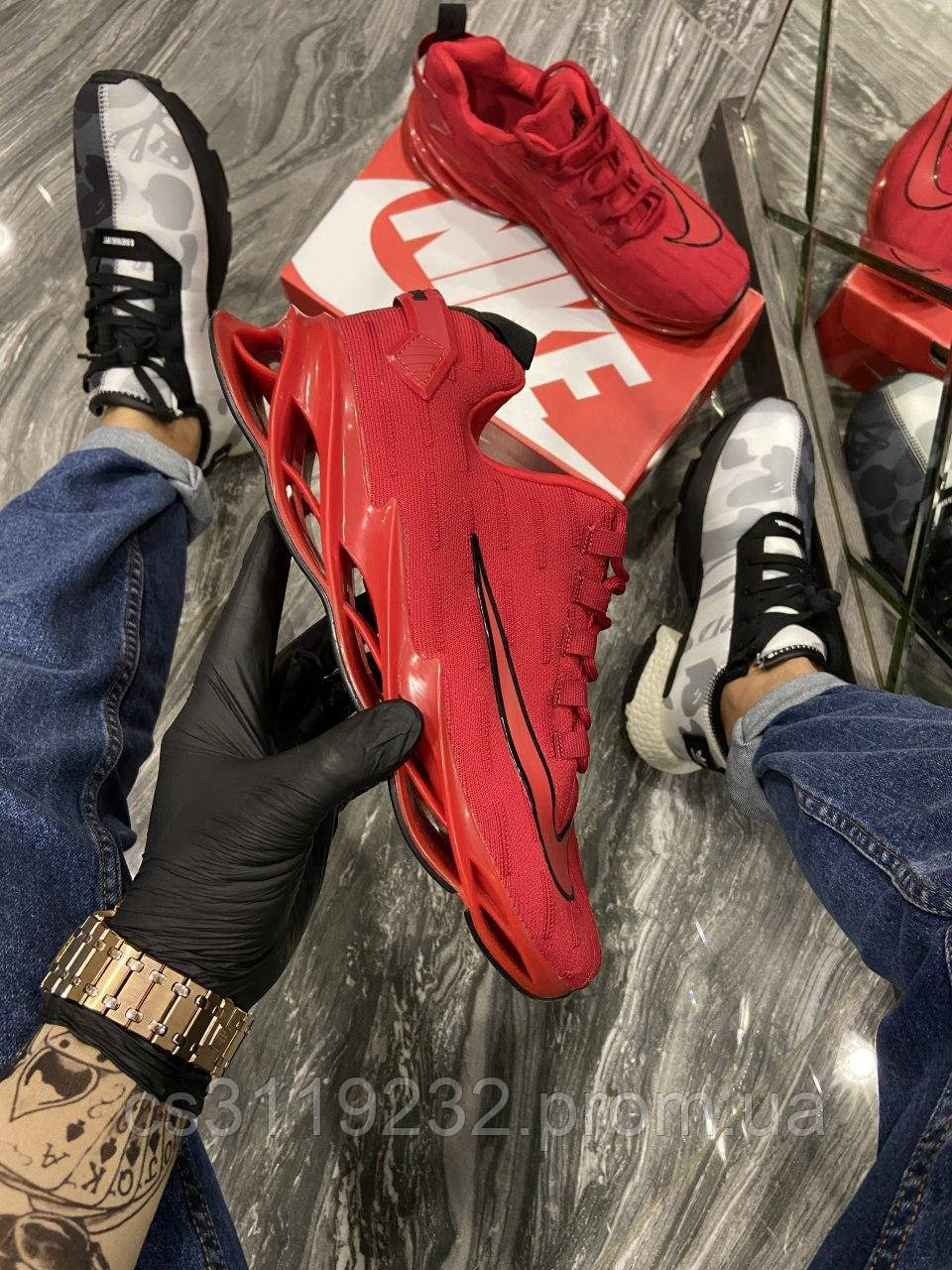 Мужские кроссовки Nike Arrowz Blade Flame Running (красные)