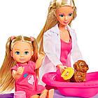 Кукольный набор Штеффи и Эви Ветеринарная клиника Simba 5733040, фото 3