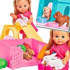 Кукольный набор Штеффи и Эви Ветеринарная клиника Simba 5733040, фото 4