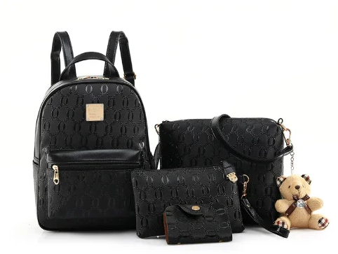 Рюкзак с сумкой и пенал 4в1 набор 23*29*13 см