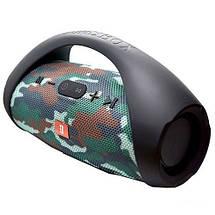 Колонка JBL BOOMBOX MINI E10 с USB, SD, FM, Bluetooth, 2-динамиками, хорошая реплика JBL КАМУФЛЯЖ, фото 2