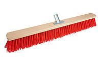 Щётка для уборки улицы (Крепление металл) красная 60см - Golwood, фото 1