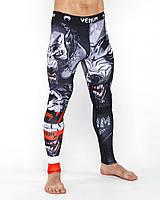 Компрессионные штаны для спорта (мма, фитнес, бег) Venum Werewolf
