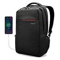 """Рюкзак для путешествий и города Tigernu T-B3130 15.6"""" USB для ноутбука, работы, учебы, поездок"""