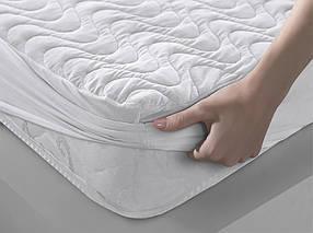 Наматрасник Хмаринка 180х200см, с бортами на резинке Leleka Textile, 4205