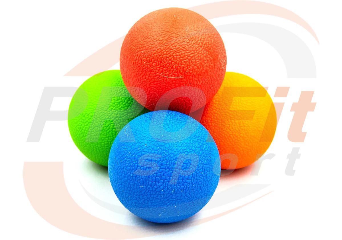 Массажный мячик PLA твердый TPR 6.5 см