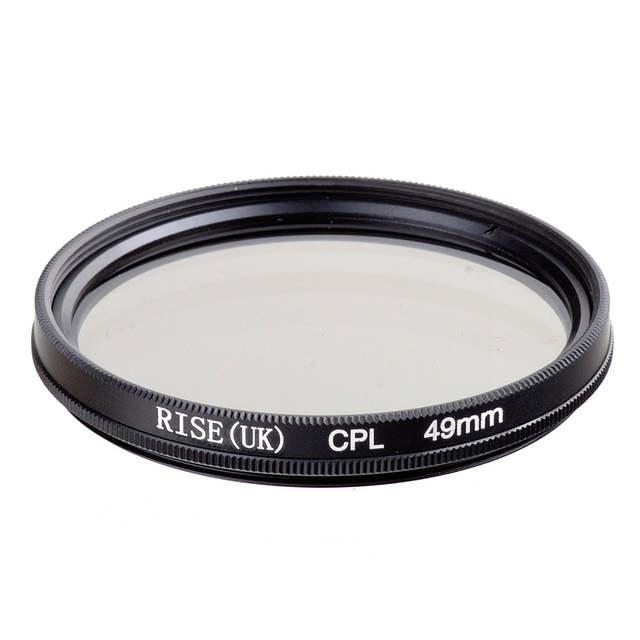 Поляризаційний фільтр RISE CPL 49 mm