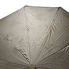 Женский зонтик Bellisimo полуавтомат на 10 спиц Бежевый (461-1), фото 3