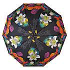 Женский зонт полуавтомат Susino цветочный принт Разноцветный (43006-10), фото 2