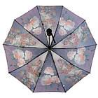 Женский зонт полуавтомат Susino цветочный принт Разноцветный (43006-10), фото 3