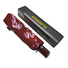Автоматический зонтик Flagman Lava Коричнево-шоколадный (734-2), фото 8
