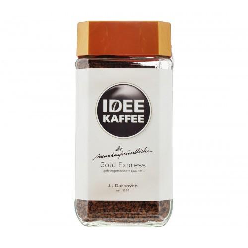 Кофе  Растворимый  Idee Gold Express в стеклянной банке 200 г Германия
