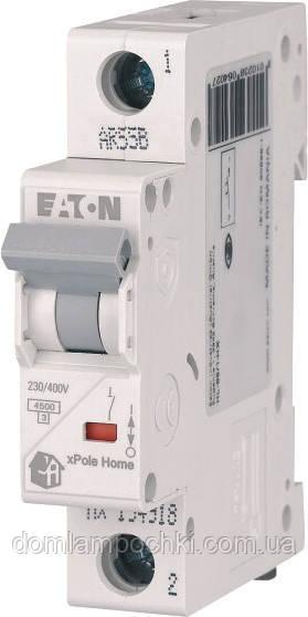 Выключатель автоматический однополюсный HL-C6/1 Eaton