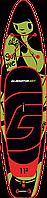 """Сапборд Gladiator ART 11'2"""" x 30"""" TATTOO - надувная доска для САП серфинга, sup board, фото 4"""