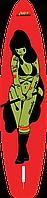 """Сапборд Gladiator ART 12'6"""" x 32"""" TATTOO - надувная доска для САП серфинга, sup board, фото 4"""