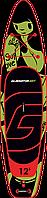 """Сапборд Gladiator ART 12'6"""" x 32"""" TATTOO - надувная доска для САП серфинга, sup board, фото 3"""