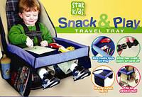 Универсальный столик для автокресла play snack tray, фото 1