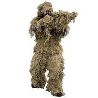 Маскировочный костюм Снайпер Mil-Tec Anti Fire| костюм маскировочный Desert | маскхалат (XL-XXL)