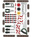 Верстак мастерская игровой комплекс 75 элементов BOSCH Klein 8320, фото 3