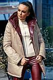 1243/7 Женская двусторонняя куртка, фото 3