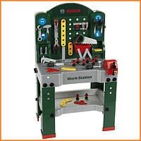 Детский игровой комплекс мастерская Верстак BOSCH 79 элементов Klein 8580