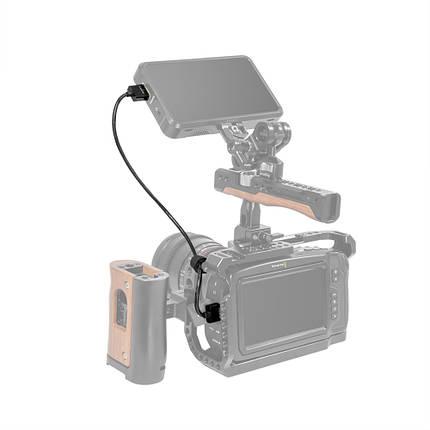 Ультра тонкий и прочный HDMI кабель SmallRig для внешнего 4K монитора (55 см), фото 2