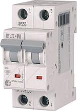 Выключатель автоматический двухполюсный HL-C10/2 Eaton