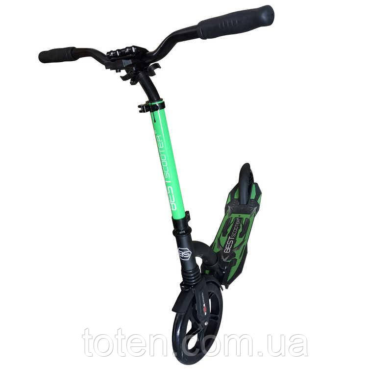 Самокат Best Scooter 43834. зелёный