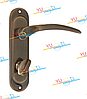 Дверная ручка YUTL Айлар бронза Вц 62 мм